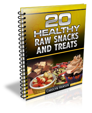 20 healthy raw snacks and treats
