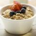 Healthy breakfast - oatmeal