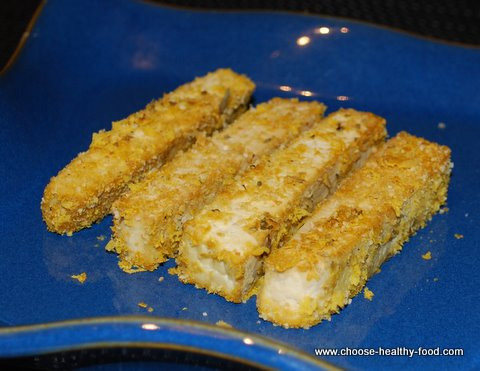 baked tofu recipe - tofu fingers