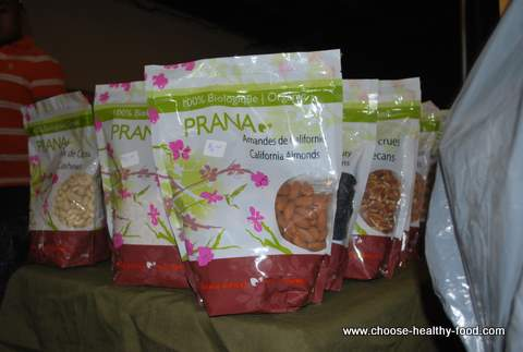 Bulk organic almonds from Prana
