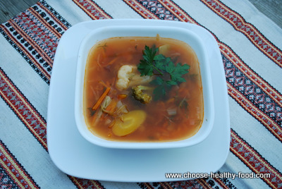 cabbage soup (schi) picture