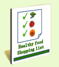 healthy shopping list