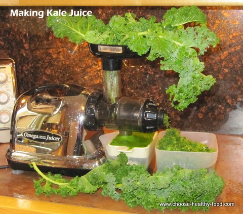 juicing kale