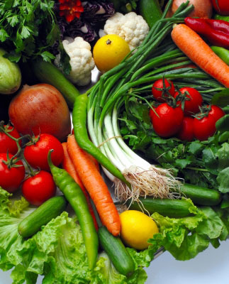 veggies as a healthy choice