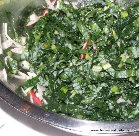 pickled dinosaur kale