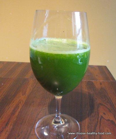 Pineapple Kale Juice Recipe