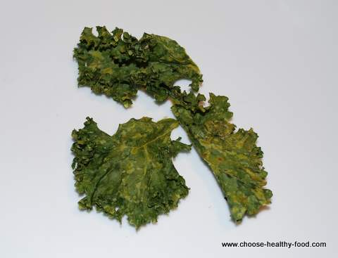 raw organic kale chips