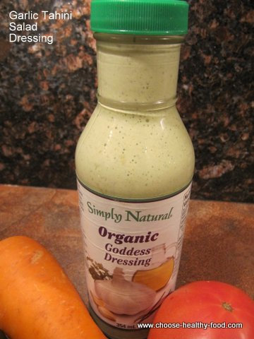 garlic tahini salad dressing recipe