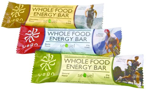 vega bars soild at the Toronto vegetarian food fair
