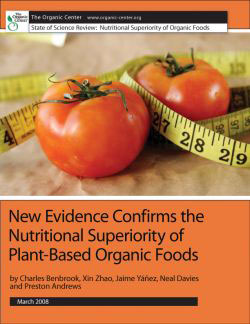 organic food superiority study