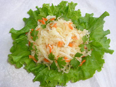 Russian pickled cabbage