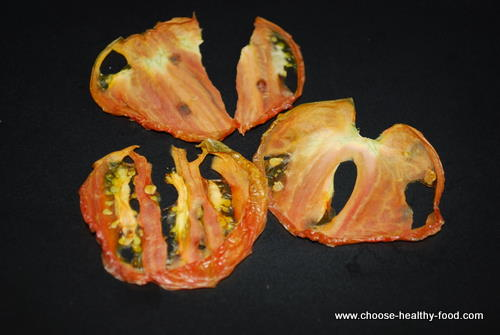 dehydrated vegetables tomatoes