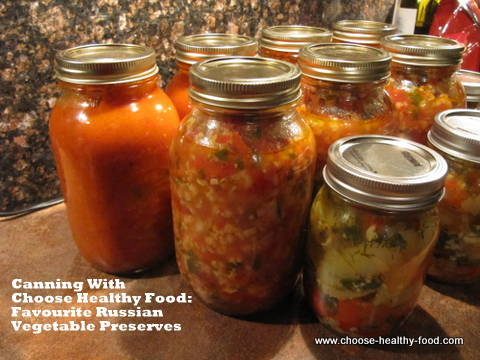 home canning recipe