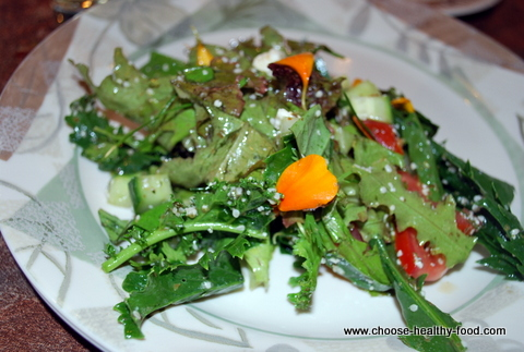 kale and hemp hearts salad
