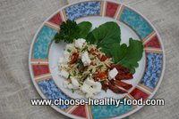 orzo salad with sundried tomatoes