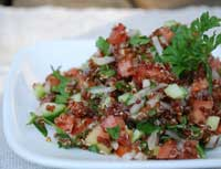quinoa tabouli (tabbouleh) salad