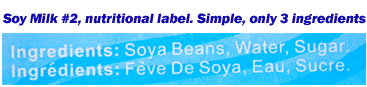 unhealthy soy milk