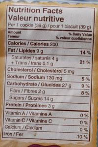 unhealthy foods - unhealthy oatmeal-cookies