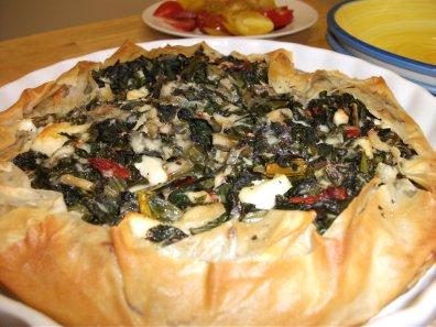 Kale-ikopita (Kale & Spinach Pie)